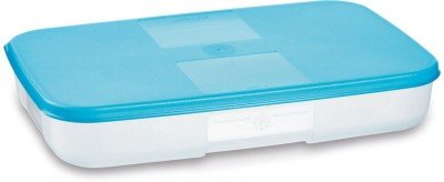 Tupperware Freezer Mate Plastic Container, 650ml, Teal