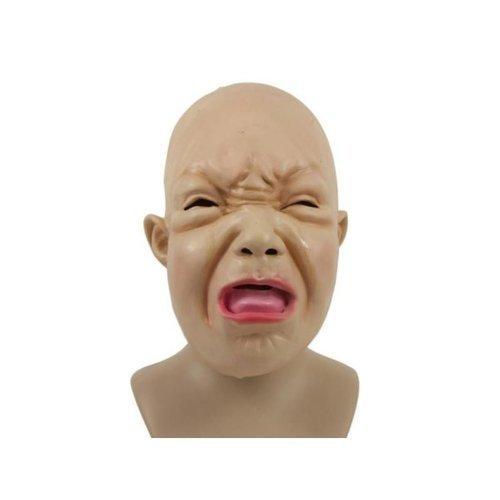 Latexmaske Weinendes Bockiges Kleinkind