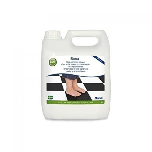 Hochwertiges Reinigungsmittel Universal Reiniger für Fliesen Reinigungsmittel Boden Reiniger Pflegemittel 4 Liter Kanister - (Fliesen Reiniger 4 Liter + Tuch)