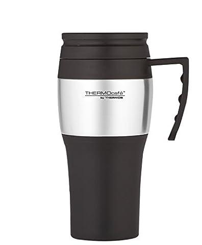 Thermos Thermocafe 2010 Steel Travel Mug, 0.4 Litre
