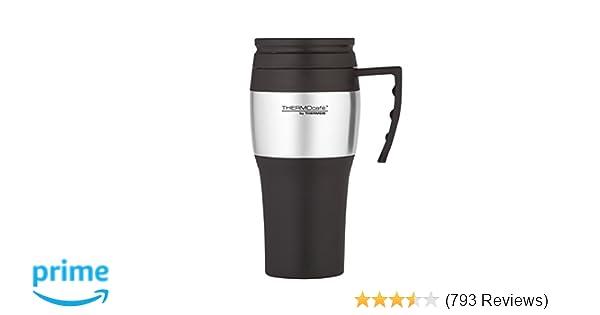 00b65d51fb5 Thermos ThermoCafé 2010 Travel Mug, 400 ml: Amazon.co.uk: Kitchen & Home