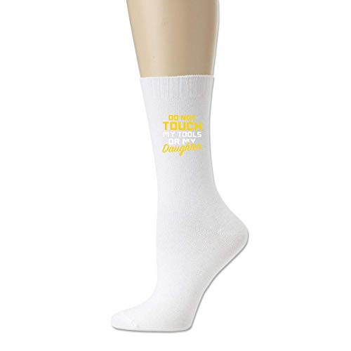 67255c817bf CHSUNHEY Calcetines Women Men Cotton Compression Sock Crew Socks Don't  Touch My Tools Great Quality Classics High Socks Sports-Breathable ...
