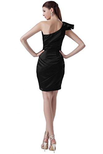 Sunvary Sexy da donna, con fascia in Chiffon con fodero incrociate, una sera Pageant Gowns rosa fucsia