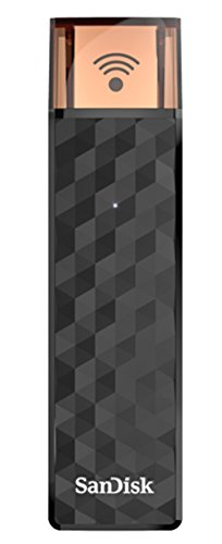 Sandisk connect wireless stick da 128 gb, nero