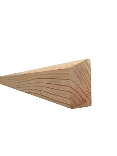 Querriegel für Holzzaun/Balkon (4 Stück) - Douglasie - 8034/3 DO (68x1780x34mm)