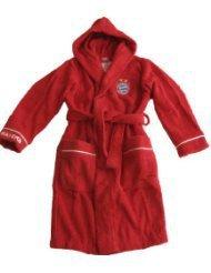 Preisvergleich Produktbild FC Bayern München 11708140 Bademantel Kids rot