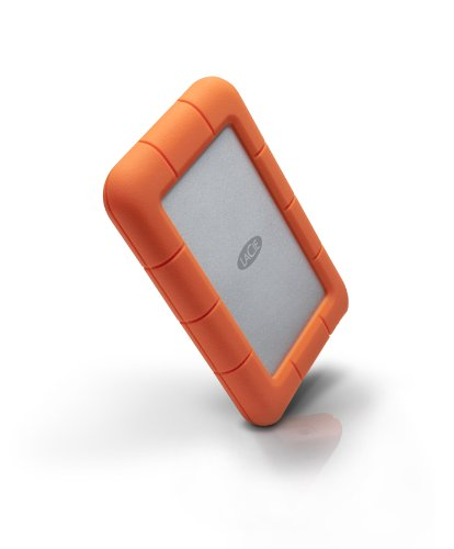 LaCie Rugged Mini 500 GB, externe tragbare Festplatte ( 7200rpm) - LAC301556