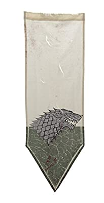 Game of Thrones Stark Distressed Battle Tournament Banner