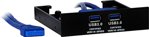 Inter-Tech 88885242 AC USB-Frontpanel 3.5