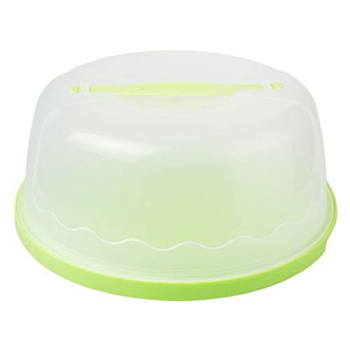 qianzhi 28cm KunststoffCake Saver mit Griff, perfekt um Kuchen frisch zu halten Cake Butler