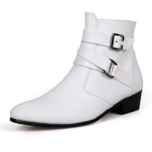 Abcone stivali uomo invernali pelle eleganti stivaletti uomo stivali scarpe occidentali stivaletti chelsea uomo caviglia pelliccia sneakers antiscivolo scarpe