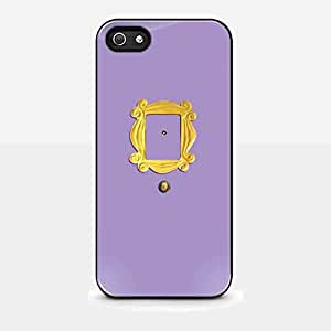 Monica's Peephole Door Friends Tv Show for Iphone and Samsung Galaxy Case (iPhone 5/5s white)