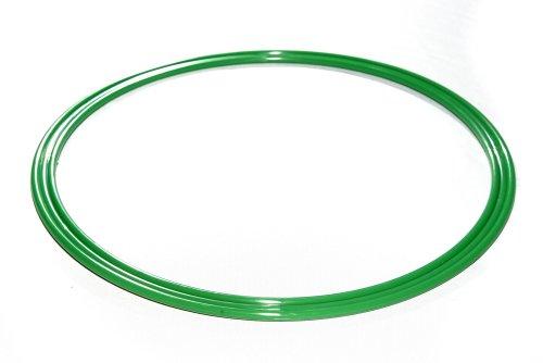 Agility Hundesport – X-Standfuß, gelb und Ring / Reifen Ø 60 cm, grün - 4
