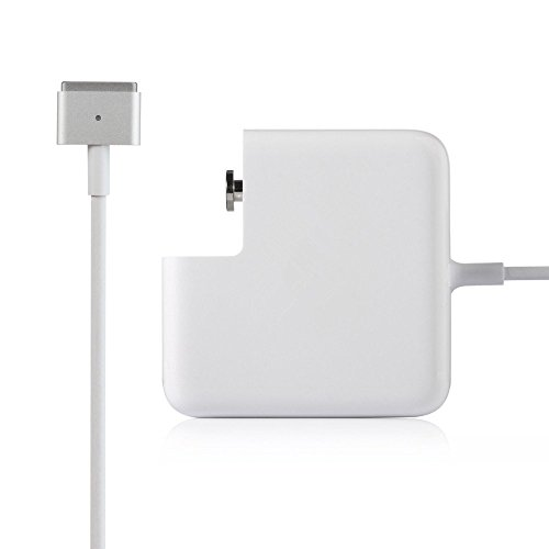 FUGEN 85W Magsafe 2 AC Adapter Charger for Apple Macbook Pro/Air/Retina (White)