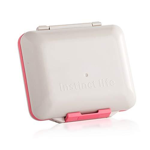 HYJ Pillendosen Pillendose Portable Seal-Unterpaket Feuchtigkeitsbeständige große Kapazität Einwöchige Lagerung mit Medikamentenbox zum Anbringen der großen Zelle,NO1