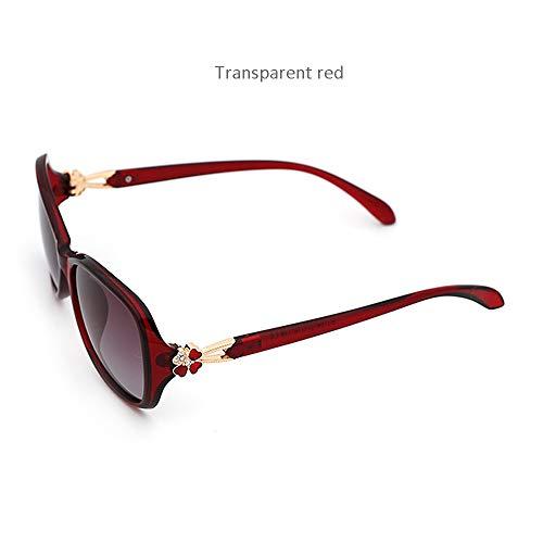Olz Sonnenbrillen, Ladies Polarized UV400, Anti-Glare-, Anti-Fatigue-Brillen, Outdoor-Fahren, Radfahren, Sonnenbrille für Straßenaufnahmen,H