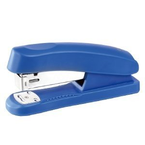 Guilty Gadgets ? - Office Stapler Paper Desktop School and 1000 Staples (Purple or Blue randomly selected)
