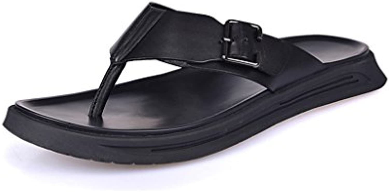 JIANXIN Pantofole Esterne in in in Pelle con Fodera Spessa per Uomo in Pelle New England (Dimensioni   EU 44 US 14 UK... | Design ricco  5974bd