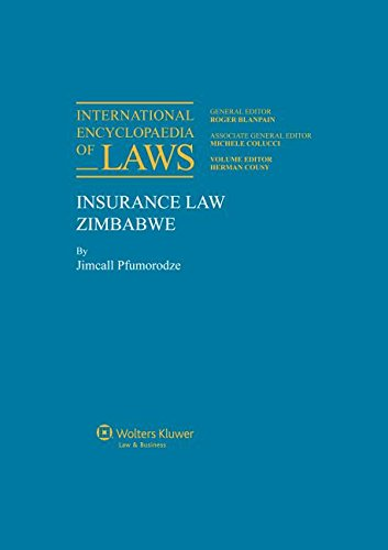 Insurance Law (International Encyclopaedia of Laws)