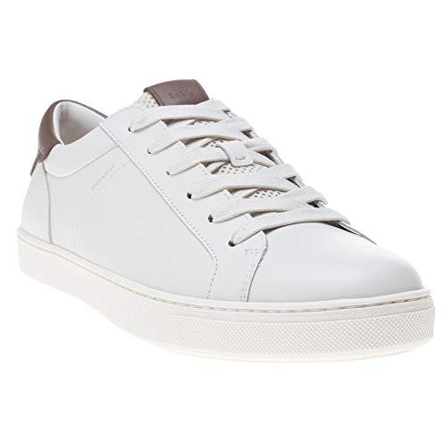 Coach Leather C121 Herren Sneaker Weiß