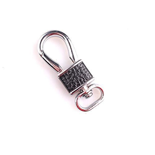 ahliwei Schlüsselbund Anhänger Schlüsselanhänger Metall Leder Auto Kleines Geschenk Event Werbegeschenk