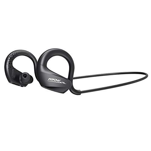 .0 Kabellose Kopfhörer, AptX Stereo-Sound mit Dual Smart EQ/ 9 Stunden Musikzeit/MEMS Mikrofon, IPX6 Wasserdicht Sportkopfhörer Joggen/Laufen für iPhone Samsung Huawei Android ()