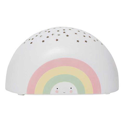 A Little Lovely Company LTPR052 - Proyector lámpara de arcoíris