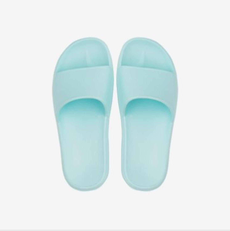 Fankou Four Seasons zapatillas dormitorio baño home tiene un antideslizante ,45-46, Verano Azul cielo