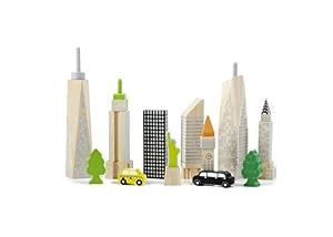 Andreu Toys Andreu ToysWW-2517 Wonderworld City Skyline Glow Blocks Juguete