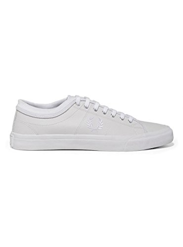 Fred Perry Kendrick Tipped Cuff Leather White