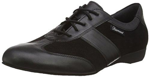 Diamant Diamant Ballroom Sneakers Herren 123-225-070 - Zapatos de baile - standard & latino para hombre, color negro (schwarz), talla 42