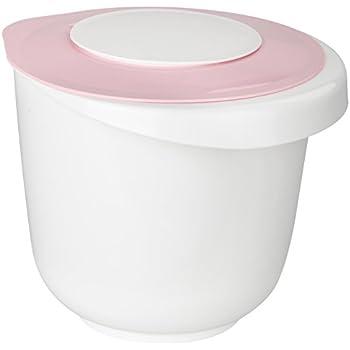 Messbecher Rührbehälter mit Deckel Spritzschutz Rührbecher Maßbecher 2 liter