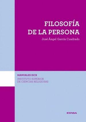 FILOSOFÍA DE LA PERSONA (ISCR) (Manuales del ISCR)