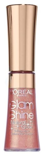 L'Oréal Paris Glam Shine Natural Glow, Lippenstift, 401 Crystal Rose Glow