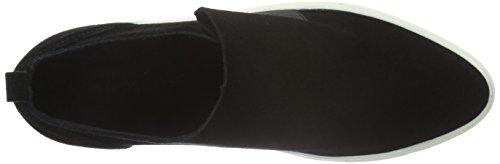 Vero Moda Vmkaroline Leather Shoe, Mocassins Femme Noir - Noir