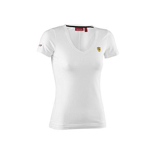 ferrari-f1-team-ladies-white-cotton-v-neck-t-shirt-m