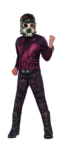 Rubies Guardians Of The Galaxy Vol. 2 Boys Deluxe Muscle Chest Starlord Costume (The Guardians Nebula Kostüm Of Galaxy)