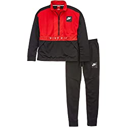 Nike 892474 - Chándal, Niños, Negro/Rojo (Black/University Red/University Red), M