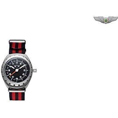 BMW Mini Nuovo Originale mini nero/argento orologio da polso unisex tachimetro 80262338766