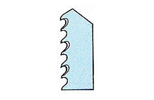 X23043–XJ Piranha HCS bois Lame courbée pour scie sauteuse queue en T