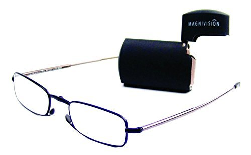 e107c0962049 Magnivision - The Gideon Folding Reader Glasses - 2.00 Power by Magnivision
