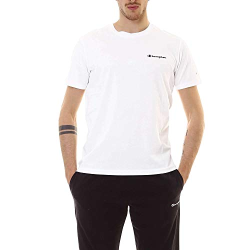 Patch Crewneck T-shirt (Champion Crewneck T-Shirt, WW001, M)