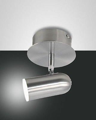 Fabas Luce 3328–81–178Spot tacheté en métal Nickel LED Warm White 5W 450lm