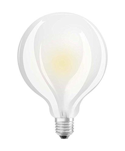 Osram LED Star Classic Globe dimmable Lampe, Sockel: E27, Warm White, 2700 K, 12 W, Ersatz für 100-W-Glühbirne - Star Globe