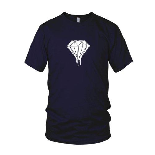 Dripping Diamond - Herren T-Shirt Dunkelblau