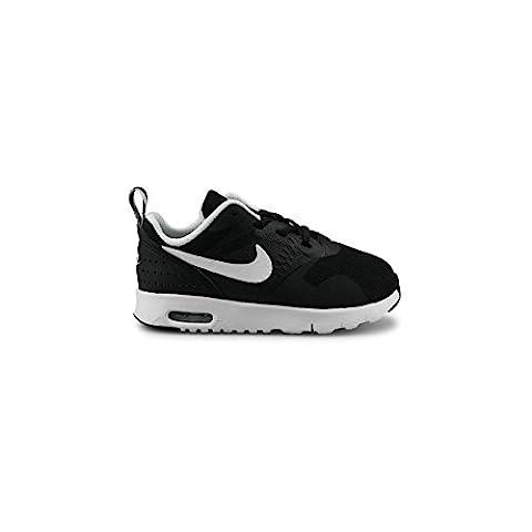 Nike Air Max Tavas (Tde), Chaussures Mixte Bébé, Blanc (Noir / Blanc), 27 EU