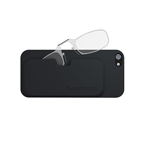 ThinOPTICS Stick Anywhere, Go Everywhere Reading Glasses plus iPhone 5c Case