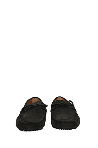 KUD006MIMETICOSCAMOSCIATO8 Car Shoe Loafers Herren Wildleder Grün Grün