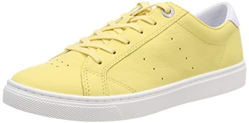Tommy Hilfiger Damen POP Color City Sneaker, Gelb (Golden Haze 731), 39 EU City-sneaker