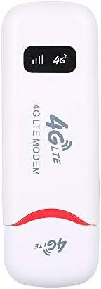 4G Portable Mini Wifi Router Usb Modem 100Mbps LTE FDD With SIM Card Slot(White)
